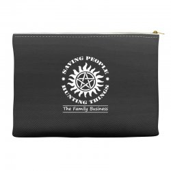 Family Business t shirt Accessory Pouches | Artistshot