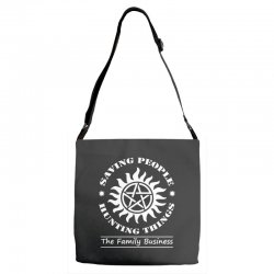 Family Business t shirt Adjustable Strap Totes | Artistshot
