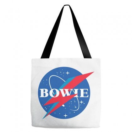 Bowie Nasa Parody Tote Bags Designed By Toweroflandrose