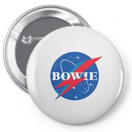 Bowie Nasa Parody Pin-back Button Designed By Toweroflandrose