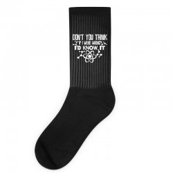 funny big bang theory don't you think if i were wrong i'd know Socks   Artistshot
