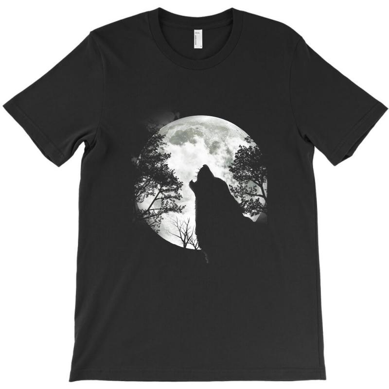 be53ad02c01 The Mountain Wolf Moon T Shirt Min T-shirt. By Artistshot