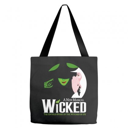 Wicked Broadway Musical Tote Bags Designed By Toweroflandrose