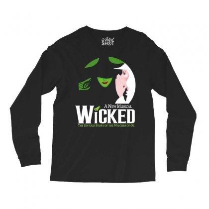 Wicked Broadway Musical Long Sleeve Shirts