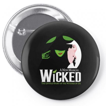 Wicked Broadway Musical Pin-back Button Designed By Toweroflandrose