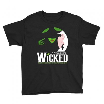 Wicked Broadway Musical Youth Tee Designed By Toweroflandrose
