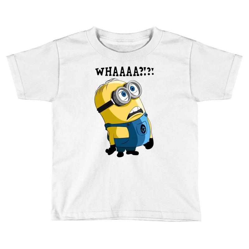 2498c60fb Custom Funny Sayings Whaaat Toddler T-shirt By Raizume76 - Artistshot