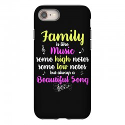 Family Is Like Music Some High Notes Somes Low Notes But Always A Beau iPhone 8 Case | Artistshot