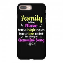 Family Is Like Music Some High Notes Somes Low Notes But Always A Beau iPhone 8 Plus Case | Artistshot