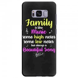 Family Is Like Music Some High Notes Somes Low Notes But Always A Beau Samsung Galaxy S8 Plus Case | Artistshot