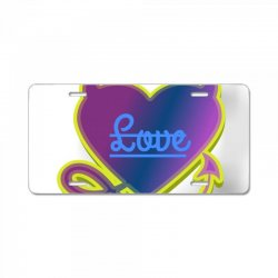 Love License Plate | Artistshot