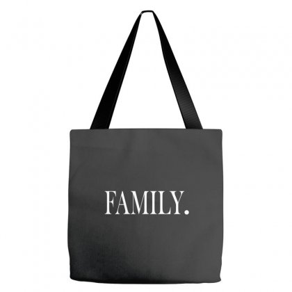 Family (white) Tote Bags Designed By Blue