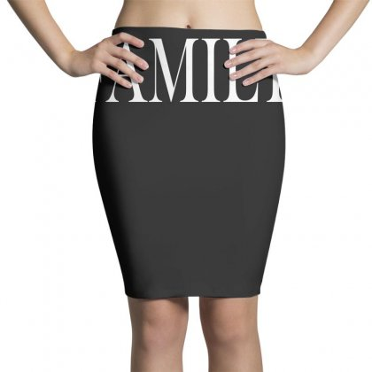 Family (white) Pencil Skirts Designed By Blue