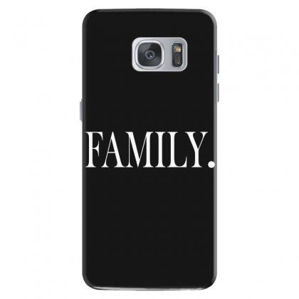 Family (white) Samsung Galaxy S7 Case Designed By Blue
