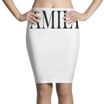 Family Pencil Skirts Designed By Blue
