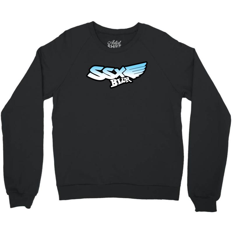 7aa32b05adbe Custom Cool Design Ssx Blur Crewneck Sweatshirt By Gunemorart ...