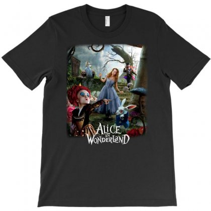 Alice In Wonderland T-shirt Designed By F4