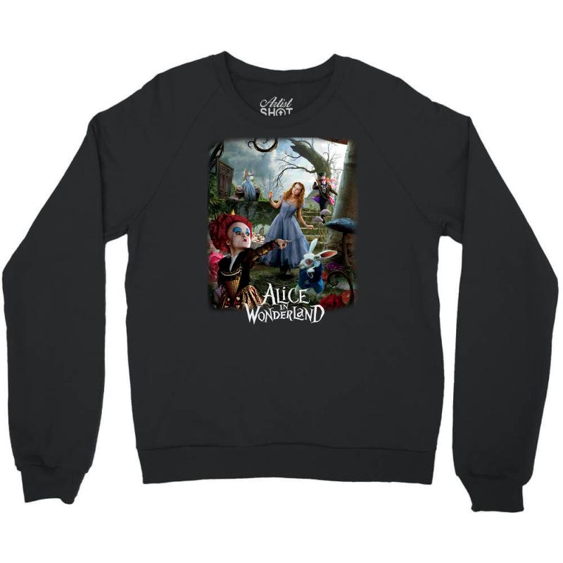 Alice In Wonderland Crewneck Sweatshirt | Artistshot