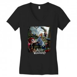 alice in wonderland Women's V-Neck T-Shirt | Artistshot