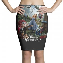 alice in wonderland Pencil Skirts | Artistshot