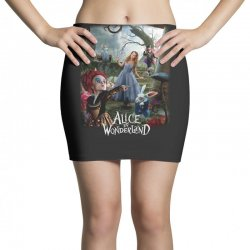 alice in wonderland Mini Skirts | Artistshot