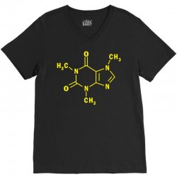 funny the big bang theory sheldon cooper chemical formula V-Neck Tee | Artistshot