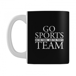 go sports do the thing win the points team Mug | Artistshot