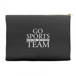 go sports do the thing win the points team Accessory Pouches | Artistshot