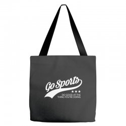 go sports funny Tote Bags | Artistshot