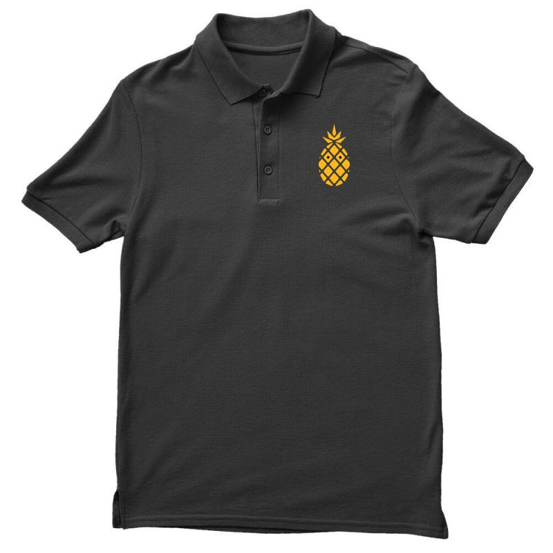 Custom Gold Pineapple Fashion Glitter Polo Shirt By Tee Shop