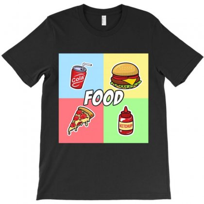 Food For Dark T-shirt Designed By Hasret