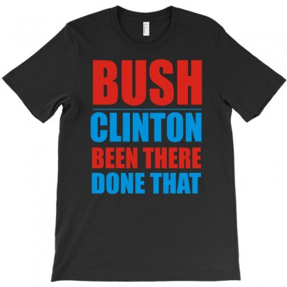 Bush Clinton Large T-shirt Designed By Mdk Art