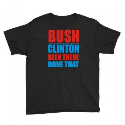 Bush Clinton Large Youth Tee Designed By Mdk Art