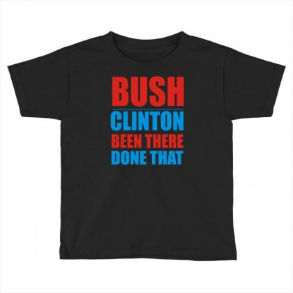 Bush Clinton Large Toddler T-shirt Designed By Mdk Art