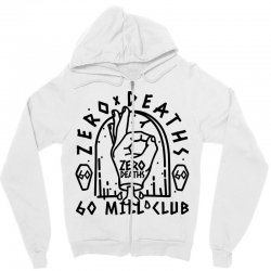 pewdiepie zero deaths 60 mill club Zipper Hoodie | Artistshot