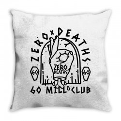 pewdiepie zero deaths 60 mill club Throw Pillow | Artistshot