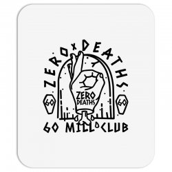 pewdiepie zero deaths 60 mill club Mousepad | Artistshot