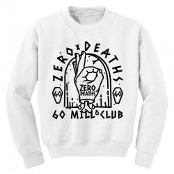 pewdiepie zero deaths 60 mill club Youth Sweatshirt | Artistshot