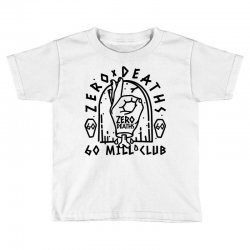 pewdiepie zero deaths 60 mill club Toddler T-shirt | Artistshot