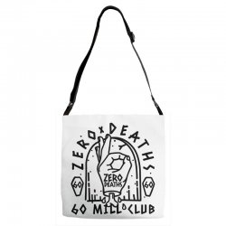 pewdiepie zero deaths 60 mill club Adjustable Strap Totes | Artistshot