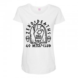 pewdiepie zero deaths 60 mill club Maternity Scoop Neck T-shirt | Artistshot
