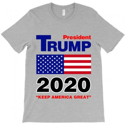 President Trump 2020 T-shirt Designed By Nurbetulk