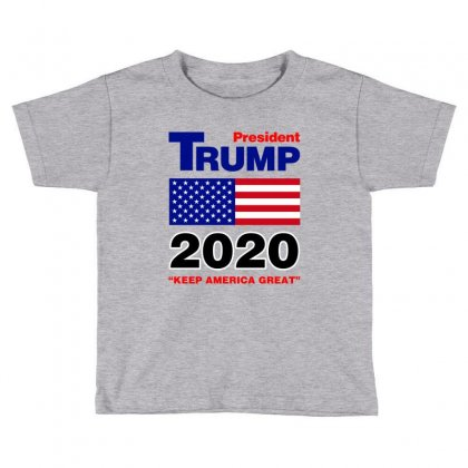 President Trump 2020 Toddler T-shirt Designed By Nurbetulk