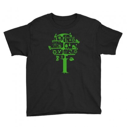 Ecology Club Youth Tee Designed By Yesairish