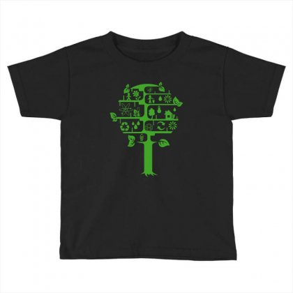 Ecology Club Toddler T-shirt Designed By Yesairish