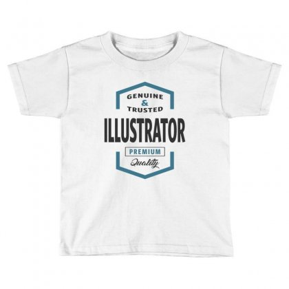 Illustrator Toddler T-shirt Designed By Ale Ceconello
