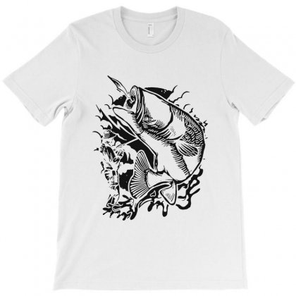 Fisherman T-shirt Designed By Blqs Apparel