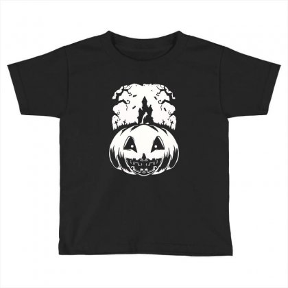Halloween Toddler T-shirt Designed By Blqs Apparel