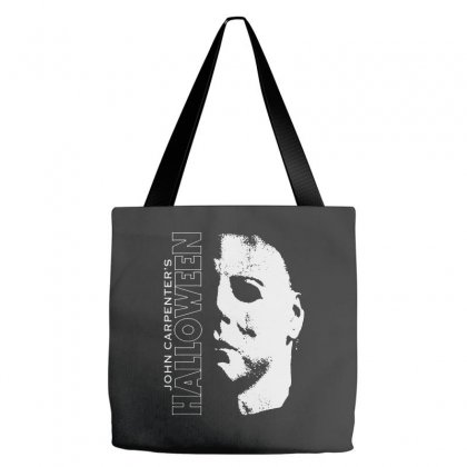 Halloween Michael Myers Tote Bags Designed By Blqs Apparel