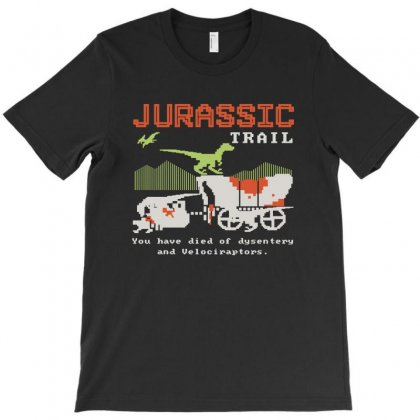 Jurassic Trail T-shirt Designed By Blqs Apparel